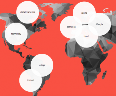 2015 digital marketing trends and creative trends around the world.