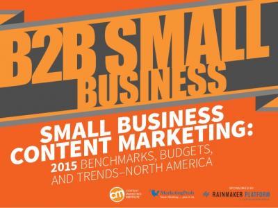 B2B small business content marketing