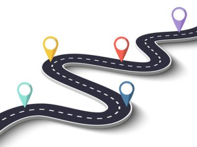 customer journey road image